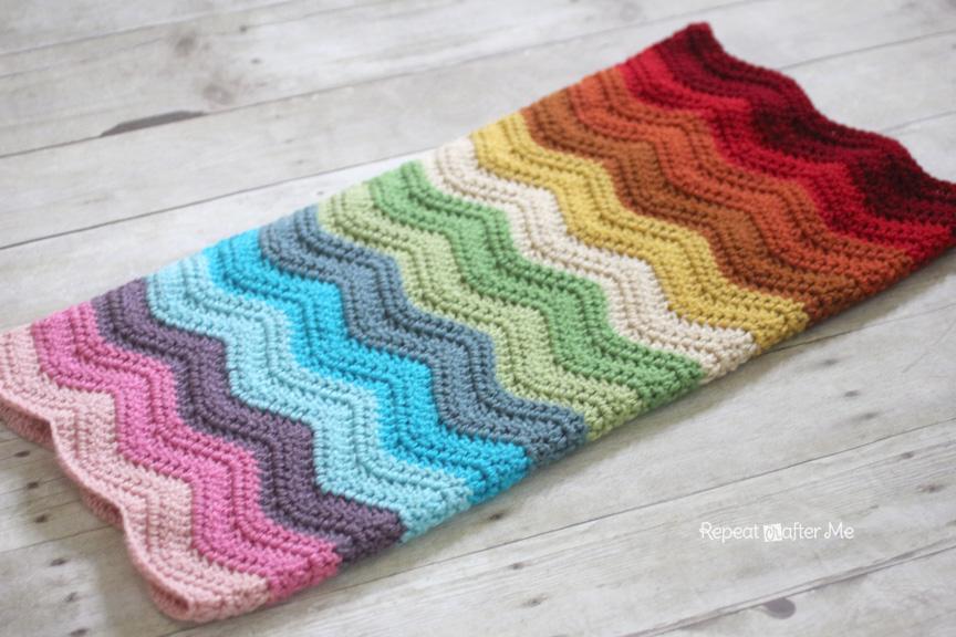 RainbowRippleBlanket1